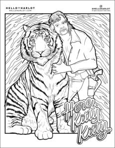 Downloadable Coloring Book Pages